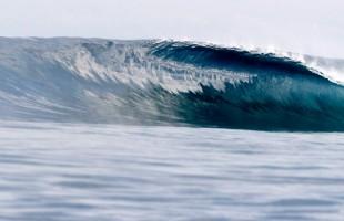 Fiji surfing
