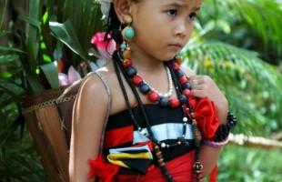 Cambodia little-girl-minority-dresses