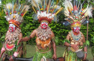 PNG welder-dancers