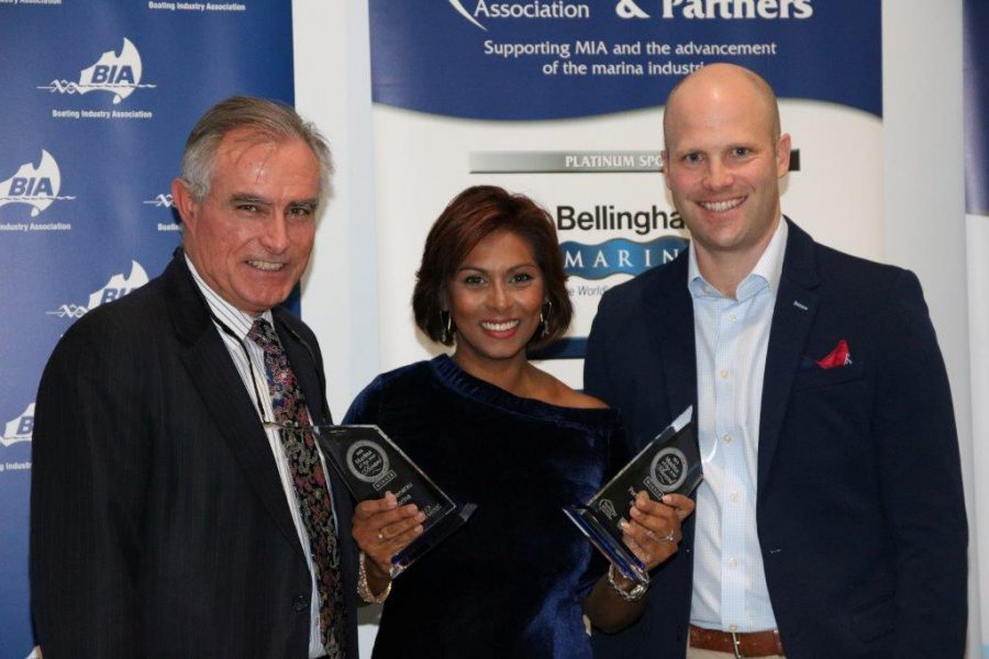 Fiji Marina Winner of 2 Awards