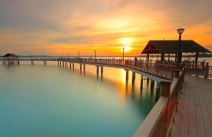Changi boardwalk by Vincent Chong