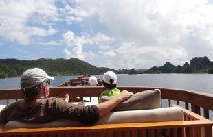 Raja Ampat Cap'n Jimmy in Banda - Wayag Island