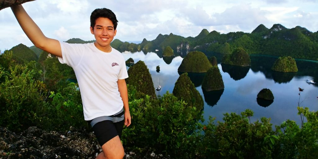 March cruising happiness in Raja Ampat' APS Indonesia